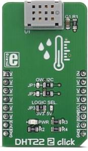 DHT22 2 click (Temperature / Humidity Sensor)