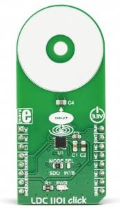LDC1101 click (Inductance Measurement)