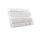 Breadboard - Clear, Self-Adhesive, 400 points