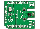 HTU21D click (Temperature / Humidity Sensor)