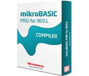 mikroBasic PRO for 8051