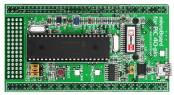 mikroBoard for PIC 40-pin