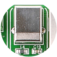 Programmer USB connector