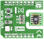 SHT11 click (Temperature / Humidity Sensor)