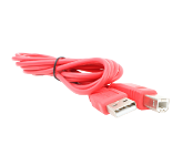 USB-B Cable (Red)