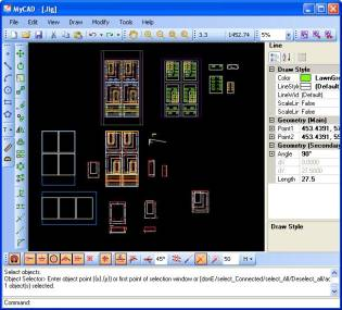 MyCAD Screenshot