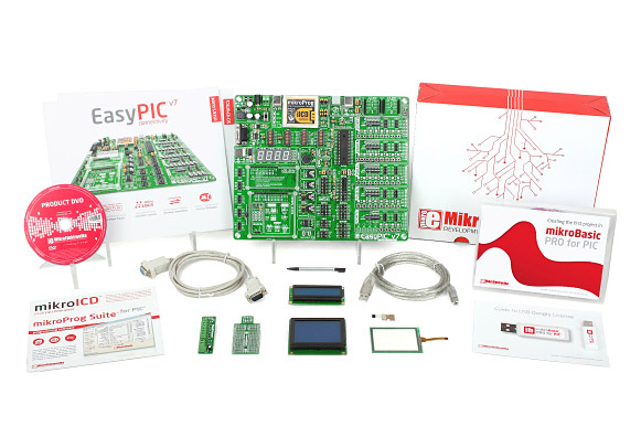 Easy Start 1 Kit - PIC (mikroBasic)