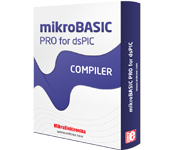 mikroBasic PRO for dsPIC30/33 and PIC24