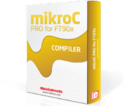 mikroC PRO for FT90x